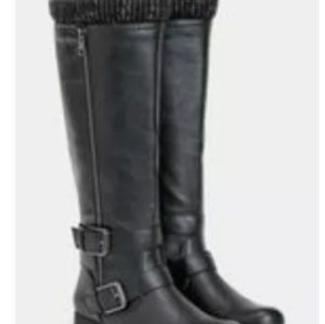 JustFab Womens Prussia size 8.5 Boots